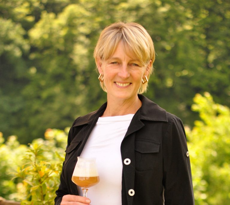 Anja, die Bier Sommelière